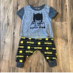 🦄5/$20🦄 Baby Boy's 2 Piece Batman Outfit